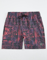 Rusty Slapshot Mens Swim Trunks