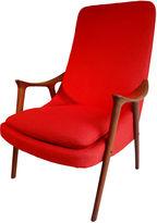 One Kings Lane Vintage Danish Modern Lounge Chair