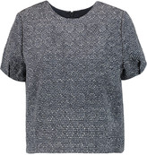 Raoul Cropped tweed top