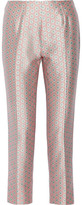 Raoul Printed Silk And Cotton-Blend Straight-Leg Pants