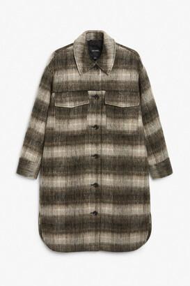 Monki Wool blend coat