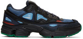 Raf Simons Navy adidas Originals Edition Ozweego 2 Sneakers