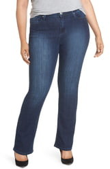 Seven7 Rocker Flap Pocket Slim Bootcut Jeans