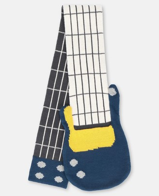 Stella Mccartney Kids Stella McCartney knit guitar scarf