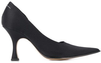 MM6 MAISON MARGIELA Black Curved Pumps