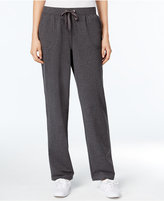Karen Scott Pull-On Terry Pants, Only at Macy's