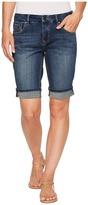 Jag Jeans Redding Bermuda Crosshatch Denim in Thorne Blue Women's Shorts