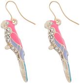 Accessorize Sparkle Parrot Drop Earrings