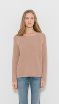 Vince Waffle Stitch Pullover Crew
