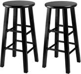 Winsome Wood 24-Inch Square Leg Counter Stool