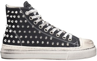 Gienchi J.m. High Sneakers In Black Leather