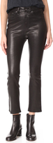 Rag & Bone The Hana High Rise Cropped Leather Pants