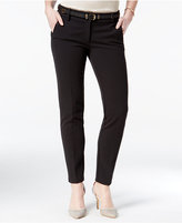 XOXO Juniors' Belted Straight-Leg Pants