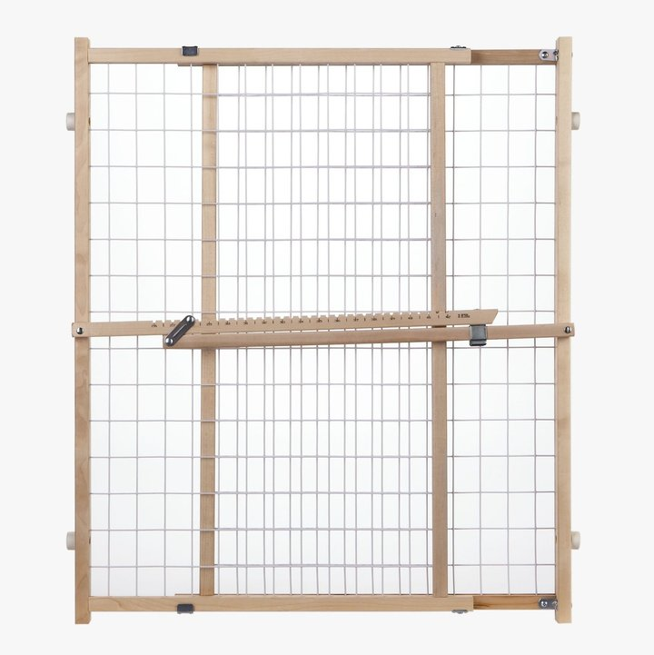 North States Extra-Wide Wire Mesh Gate