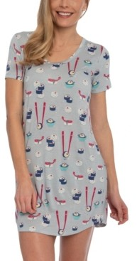 Munki Munki Nite Nite by Sushi Sleepshirt Nightgown, Online Only
