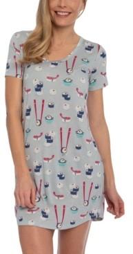 Munki Munki Nite Nite Sushi Sleepshirt Nightgown, Online Only