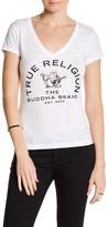 True Religion Arch Buddha V-Neck Tee