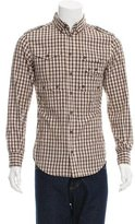 Dolce & Gabbana Plaid Military Shirt