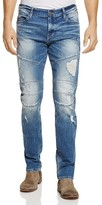True Religion Geno Moto Straight Fit Jeans in Worn Rebellion