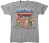 DreamWorks Men's He-Man T-Shirt Grey