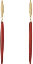 Isabel Marant Nova wooden earrings