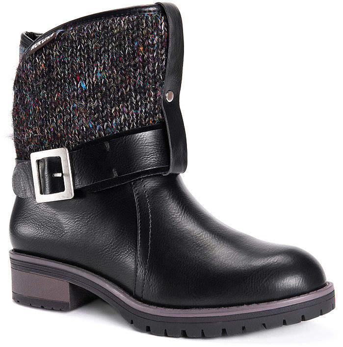 11902b054f6 Womens Mylie Block Heel Pull-on Booties