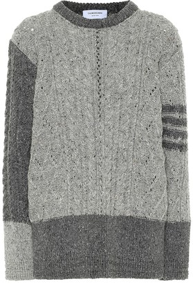 Thom Browne Wool and mohair sweater