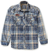 Affliction Rebound Long-Sleeve Plaid Shirt