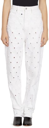 Etoile Isabel Marant Lorny Perforated Jeans