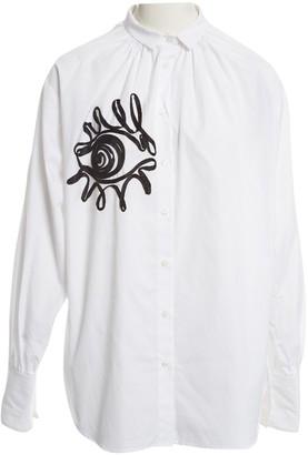 Tome White Cotton Tops