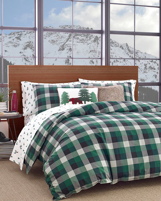 Eddie Bauer Birch Cove Plaid Pine Comforter Set