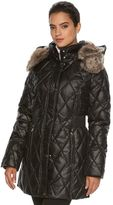 Apt. 9 Women's Hooded Quilted Puffer Jacket