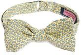 Vineyard Vines Men's 'Fish Food' Print Silk Bow Tie