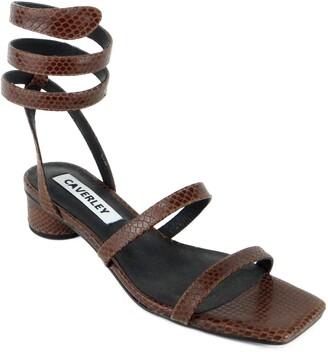 CAVERLEY Kadence Ankle Wrap Sandal