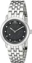 88 Rue du Rhone Women's 87WA120003 Analog Display Swiss Quartz Silver Watch