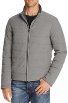 Herno Reversible Flannel Nylon Quilted Down Jacket