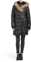 Annye Down Coat With Faux Fur