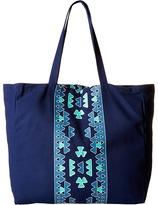 Plush Soleil Aztec Tote Bag Tote Handbags