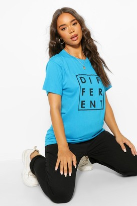 boohoo Different Graphic T-Shirt