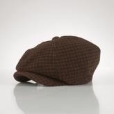 Houndstooth Newsboy Hat