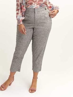 High Waist Linen Pant