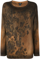 Avant Toi rust effect jumper
