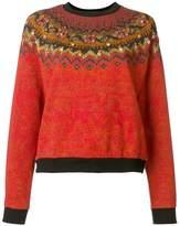 Etro embellished intarsia jumper