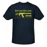 Discovery Sons of Guns Don't Build T-Shirt - Navy