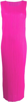 Pleats Please Issey Miyake Maxi Dress