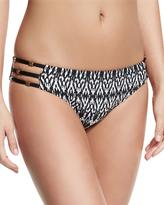 Ella Moss Tribal Dream Strappy Swim Bottom, Black