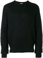 Saint Laurent fuzzy-knit sweater - men - Polyamide/Mohair/Wool - S