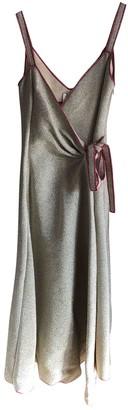 Rosie Assoulin Metallic Glitter Dresses