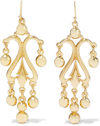 Ben-Amun 24-karat Gold-plated Earrings