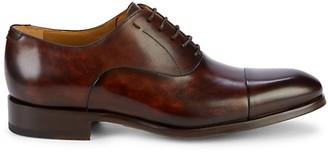 Magnanni Cap-Toe Leather Oxfords